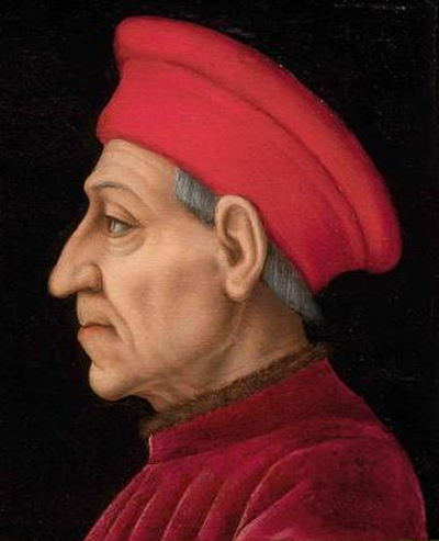 Cosimo de' Medici, political boss of Florence